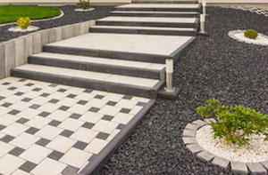 Path Block Paving Near Tiverton Devon
