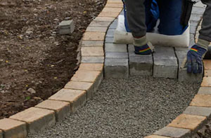 Path Block Paving Near Mansfield Nottinghamshire